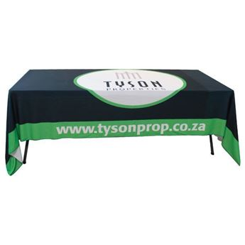 Picture of 1.5m x 4m Tablecloth With Full Colour Print