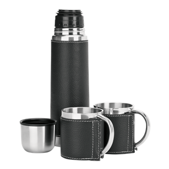Picture of 500ml Steel Flask and Mug Set