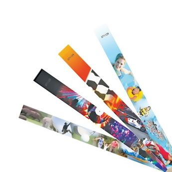 Picture of Full Color Tyvek Wrist Band