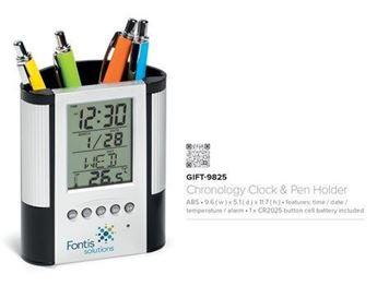 Picture of Chronology Clock & Pen Holder