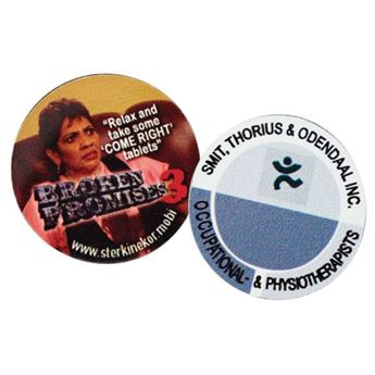 Picture of Circle Fridge Magnet
