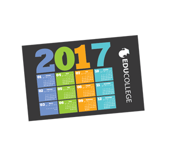 Picture of Calendar magnet with full colour print