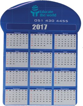 Picture of Calendar fridge magnet
