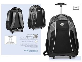 Centennial Tech Trolley Backpack, BAG-4340