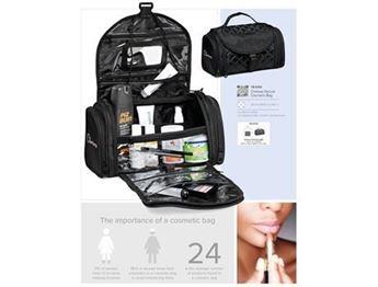 Chelsea Deluxe Cosmetic Bag, TB-3754