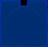 Square Licence Disk Holder, TRAV201