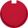 Licence Disk Holder, TRAV103, Round Plastic Licence Disk Holder
