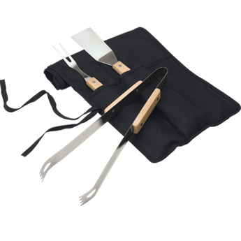 3 Piece Braai Set In Carry Case, BH0006