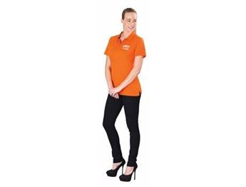 Calgary Ladies Golf Shirt, ELE-5617