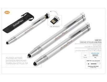 Cache USB Pen & Stylus - 8GB, USB-7211