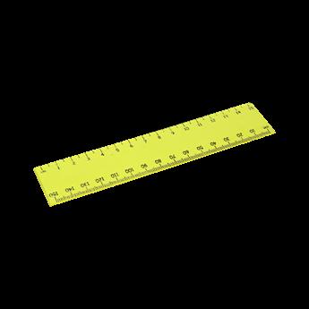 15cm Transparent Ruler, OFF10004