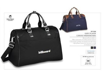 Gary Player Collection Canvas Weekend Bag, GP-008