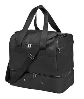 Double Decker Athlete Bag - Black,88MSP7(600D)