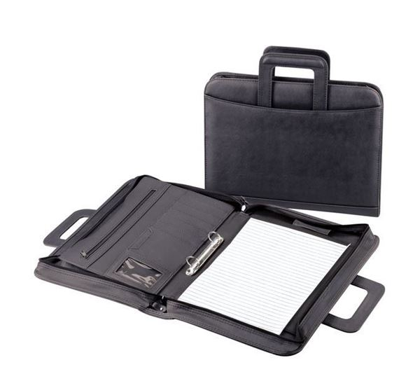 Drop-Handle Zip Around Folder, HFB1KSP