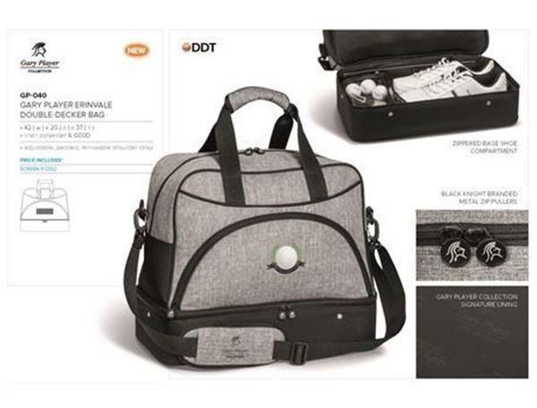 d3ac2c02d2 Gary Player Erinvale Double Decker Bag
