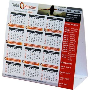 Advertising Tent Calendar With Fc - TENT001, TENT001