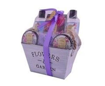 Flower And Garden Bath Set 6-Piece, P2410