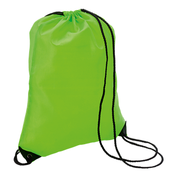 Drawstring Bag With Black Corners, BB7097