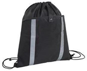 Front Pouch Drawstring Bag, BAG095