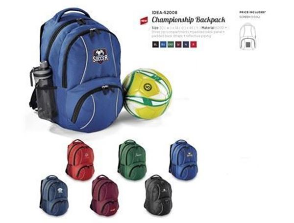 Championship Backpack, IDEA-52008
