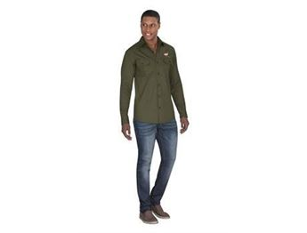 Mens Long Sleeve Oryx Bush Shirt, ALT-OXML