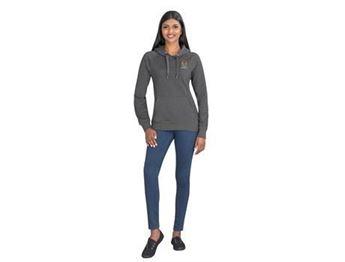 Ladies Harvard Heavyweight Hooded Sweater, ALT-HWSL
