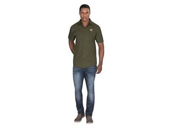 Mens Short Sleeve Oryx Bush Shirt, ALT-OXMS