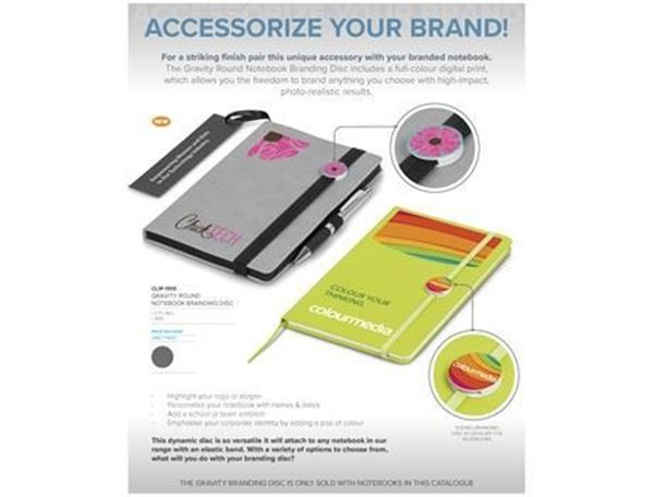 Gravity Round Notebook Branding Disc (Disc Only), CLIP-1510