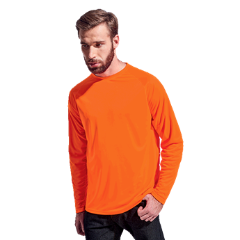135g Long Sleeve Polyester T-Shirt , TSL135B