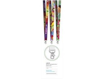 Satin Lanyard With Snap Clip, LAN-315