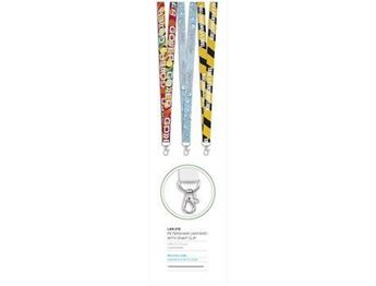 Petersham Lanyard With Snap Clip, LAN-215