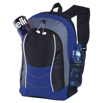 Arrow Design Backpack With Front Flap, BB0163