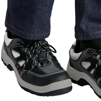 Barron Crusader Safety Shoe, SF005