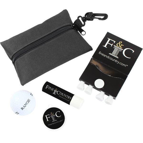 Sun Golf Kit With 1 Colour Print On Pouch, SPORT40015