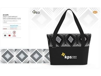 Andy Cartwright Geo Conference Tote, AC-2275