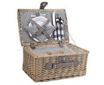 2-Person Wicker Picnic Basket, P2483