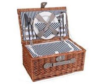 4-Person Wicker Picnic Basket, P2484