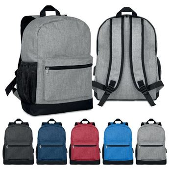 2 Tone Backpack, BAG0690