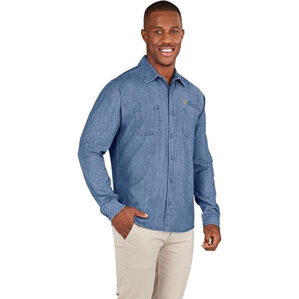 Mens Long Sleeve Eastwood Shirt, BAS-11204
