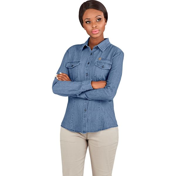 Ladies Long Sleeve Eastwood Shirt, BAS-11205