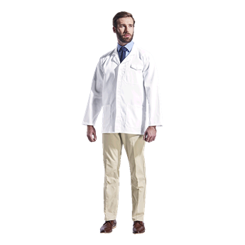 All-Purpose Long Sleeve Lab Coat, LLAB-ALL