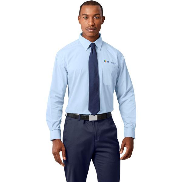 Mens Long Sleeve Washington Shirt, BAS-811