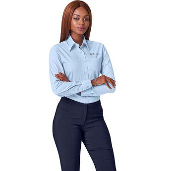 Ladies Long Sleeve Washington Shirt, BAS-812