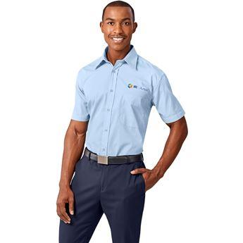 Mens Short Sleeve Washington Shirt, BAS-2102