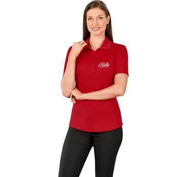 Ladies Edge Golf Shirt, ELE-7303