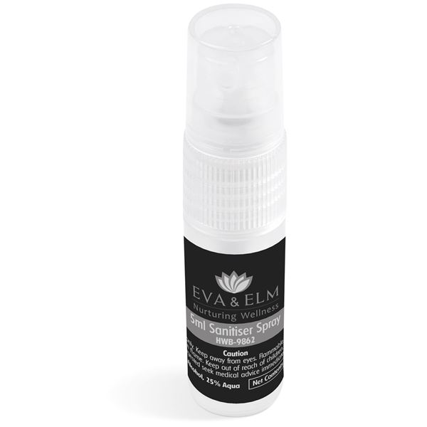 Eva & Elm Quinn 5Ml Sanitiser Spray, HWB-9862