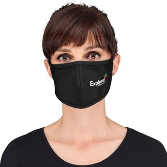 Alto Adults Double-Layer Tie-Back Face Mask, HWB-9921
