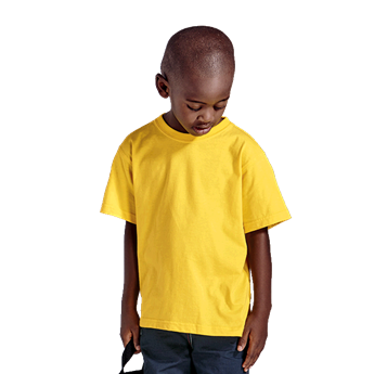 145g Kiddies Crew Neck T-Shirt, TST145K
