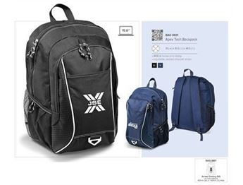 Apex Laptop Backpack, BAG-3601