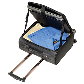 600D Laptop Trolley Bag With Four Wheels, BB0174